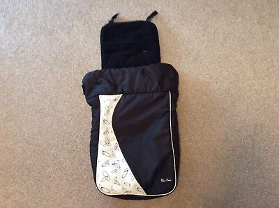 Silver Cross Pushchair Footmuff**excellent condition**