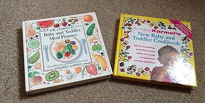 Annabel Karmel Books - Baby And Toddler Cookbook & Baby And Toddler Meal Planner