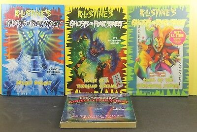 LOT of 4)  Ghost of Fear Street by R. L. Stine  (Paperback)
