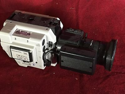 Professional Video Camera:Panasonic HD 5100HD with Remote Control, 8x Lens
