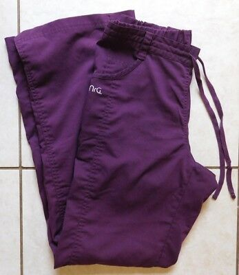 NRG by Barco Scrub Pants / Size Extra Small / Style #3207 / Dark Purple