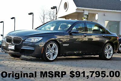 "2015 BMW 7-Series 740Lxd Diesel M Sport Edition 2015 M Sport Edition Executive PKG 20"" M Wheels Diesel AWD Auto Dark Graphite"