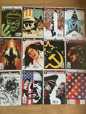 The Programme (2007 Wildstorm Comics) complete set #1-12 first print