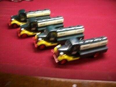 4 1982/83 Hess Trucks For Parts,