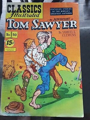 Classics Illustrated, The Adventures of Tom Sawyer