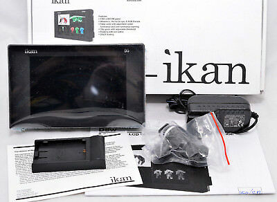 "Ikan D5w-E6 D5w Canon E6 Battery Plate, Black NIB 5.6"" HD SDI waveform monitor"