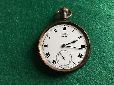 Antique CYMA vintage pocket watch for spares and repair
