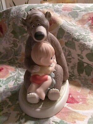 Disney's Precious Moments Collectible The Simple Bear Necessities Figurine