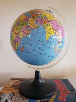 Vintage world globe on a stand VGC Suit the home office