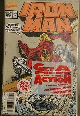 Iron Man # 310 Friends and other Enemies