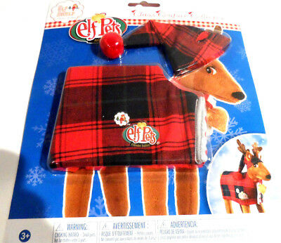 The Elf on the Shelf Claus Couture Collection Elf Pets Reindeer Pajamas Set NIP