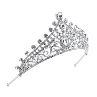 Wedding Bridal Hair Accessories Formal Headdress Headband Queen Tiara Crown