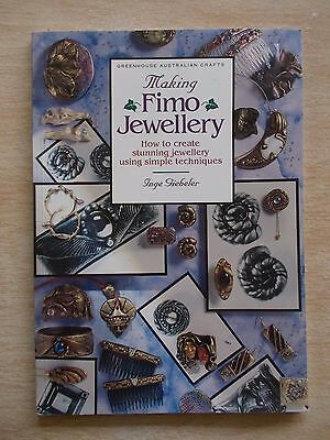 Making Fimo Jewellery~Inge Giebeler~40pp P/B~Projects~Techniques~1994