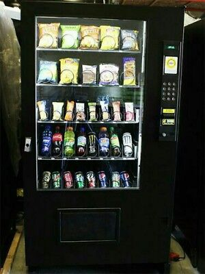 Beautiful AMS Vending Machine Healthy You COMBO SODA / SNACK  Food Truck