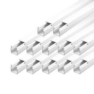 Cable Channel 25 x 25 mm PVC 18m Tray installationskanal Electric Canal