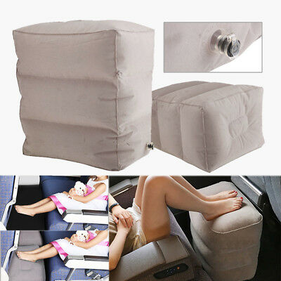 3 Layer Inflatable Travel Footrest Leg Rest Travel Pillow Kids' Bed to Lay Down