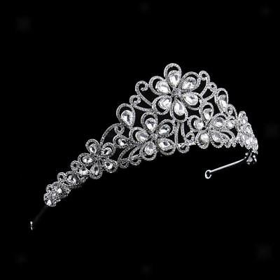 Tiara Crown - Luxury Hair Accessories Headband Headdress for Wedding Bride