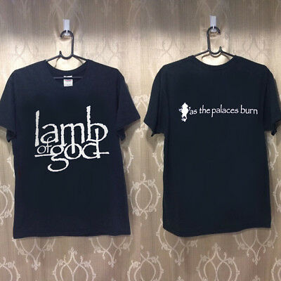 NEW RARE!! LAMB OF GOD SHIRT As The Palaces Burn shirt GILDAN LIMMITED EDITION