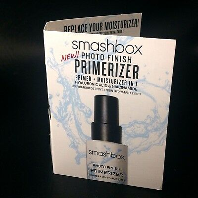 NEW! Smashbox Photo Finish PRIMERIZER Primer + Moisturizer in One .13 fl oz