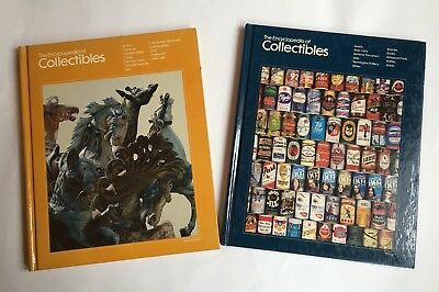 """Two Time Life Books """"The Encyclopedia Of Collectibles"""" 1978"""