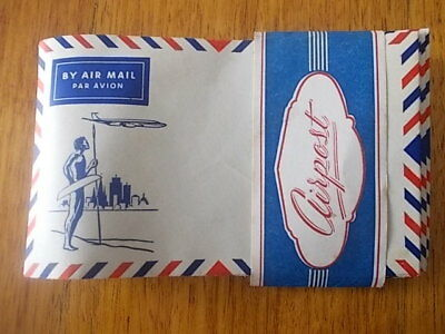 Old Airmail Envelopes. By Air Mail Par Avion. Pic. Of  Aborigine And Plane  (11)