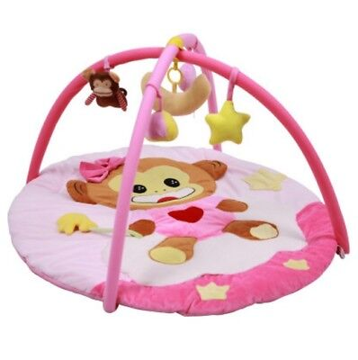 D30 Cartoon Animal Baby Bodybuilding Frame Velvet Cotton Play Mat Activity Gym A