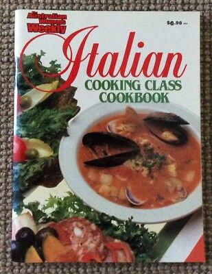 Womens  Weekly  Italian Cooking Class  Cookbook /recipes
