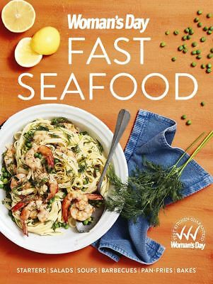 Fast Seafood By Woman's Day Paperback Cookbook Free Shipping NEW Womans