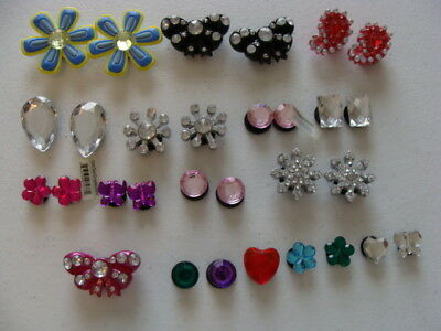 Jibbitz Shoe Charms Assorted Jewel Lot Of 11 Prs Plus 8 Loose Charms For Crocs