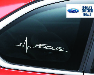 Ford Focus is in my Blood window sticker decals graphic