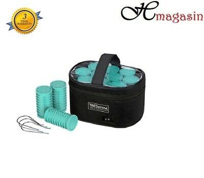 TRESemme Salon Professional Volume Ceramic Large Heated Rollers - Blue - 3039BU