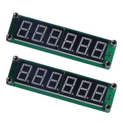 2Pcs PLJ-6LED-H Frequency Counter Digital Cymometer Module 1MHz~1000MHz Blue