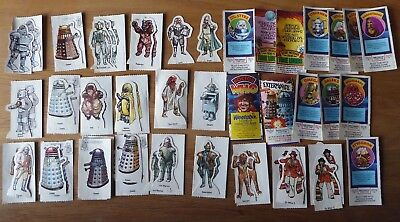 Dr Who Weetabix Trading Cards 1970's Vintage Collectable