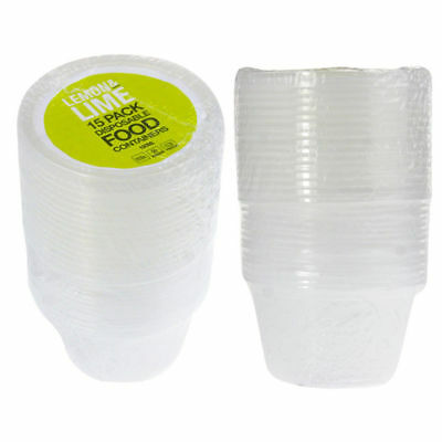 Plastic Round Dipping Sauce Disposable Small Container Cups Lids Takeaway 100ml