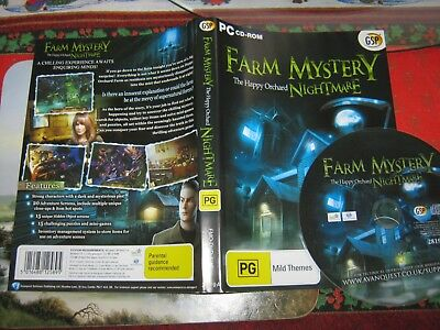 Farm Mystery The Happy Orchard Nightmare Pc Cd-Rom