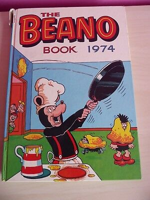The Beano 1974 Annual Children's Book Vintage Collectable