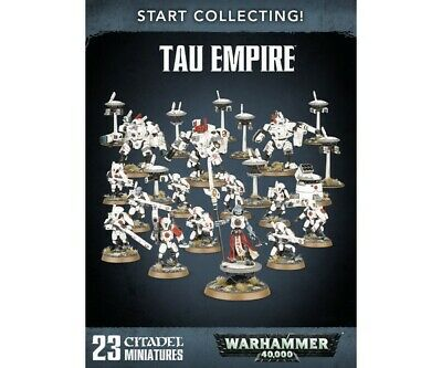 Warhammer 40000 70-56 Start Collecting! Tau Empire