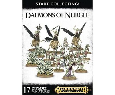 Warhammer 40000 70-98 Start Collecting! Daemons Of Nurgle