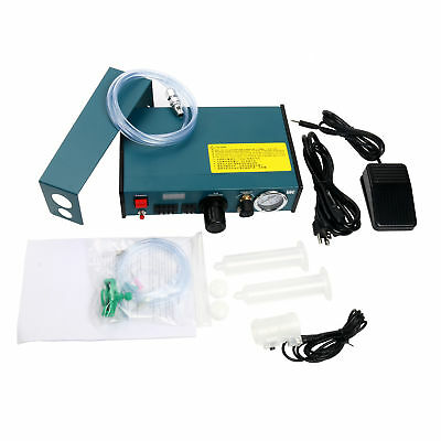 Auto Glue Dispenser Solder Paste Glue Dropper Liquid Dispensing Controller 110V