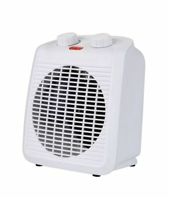 Hayes White 2KW Upright Portable Fan Heater 998772 BRAND NEW IN BOX