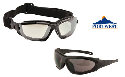 Portwest Levo 2 in 1 Work Safety Glasses Spectacles Goggles Anti Scratch PW11