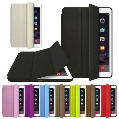 Slim Magnetic Leather Smart Cover Hard Back Case For Apple iPad 2 3 4 5 Air/mini
