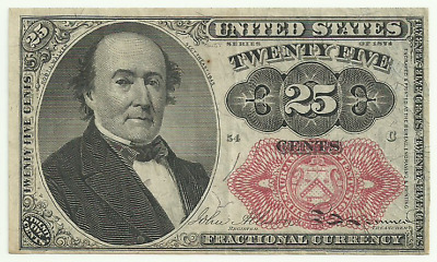 United States 25 Cent Fractional Currency - Fifth Issue - Series of 1874