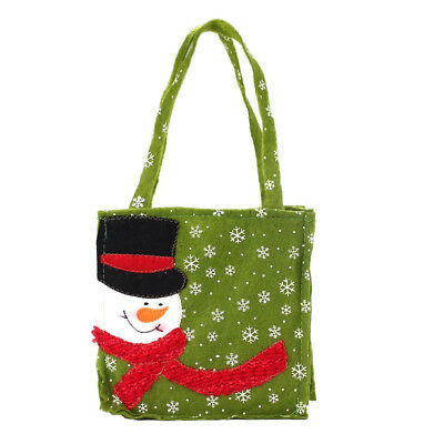 Merry Christmas Santa Claus Gift Bags Candy Bags For Holidays Decorations Cloth