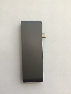 MacBook/ Pro Type C Adapter HDMI, USB 3.0 Micro Sd Card Reader