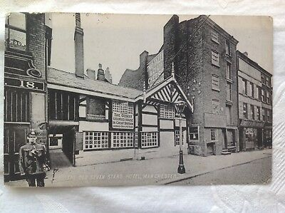 Used 1905 Postcard, The Old Seven Stars Hotel, Manchester.