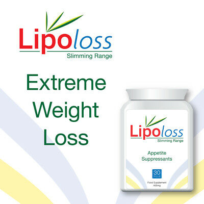 Lipoloss Appetite Suppressant Tablets Lose Fat Fast Get Skinny Stop