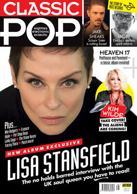 Classic Pop Magazine March 2018 (Lisa Stansfield, Heaven 17, Kim Wilde, Moby)