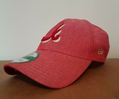 New Era 9Forty Baseball Cap Atlanta Adjustable Bent Peak