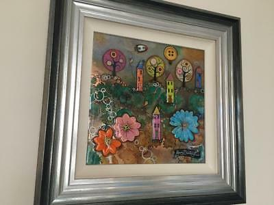 Kerry Darlington  Original artwork Lollipop Street Gallery Condition